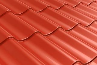 Эффективные размеры листа металлочерепицы и площадь покрытия крыши