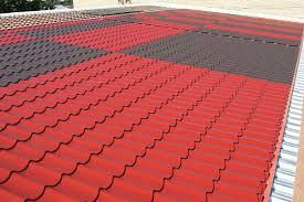Купить металлочерепицу для скатной крыши в Воронеже, цена от производителя